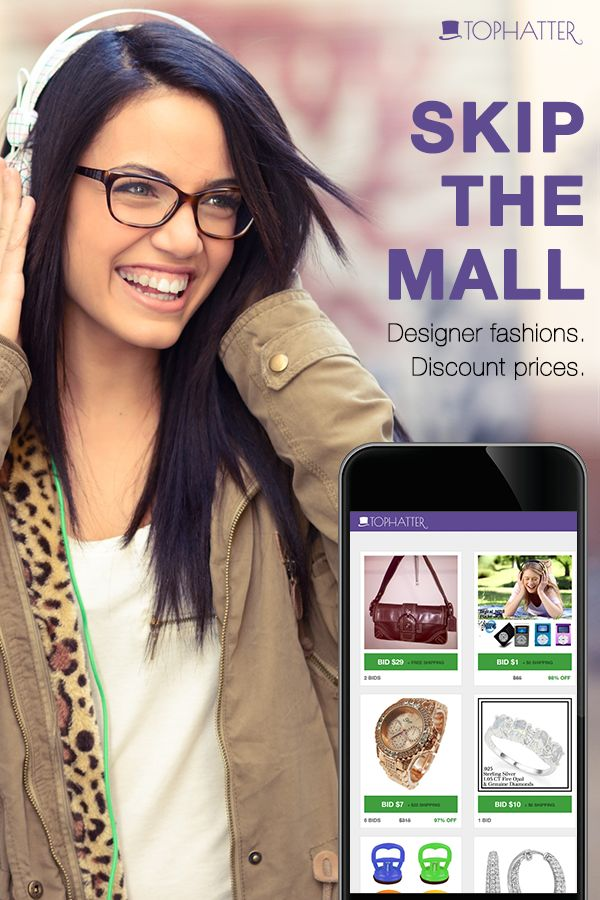 Tophatter is re-imagining discovery commerce for the mobile era. They're the world's fastest, most entertaining marketplace for mobile shoppers - with live online auctions every day in a wide variety of categories. Skip the mall - visit tophatter.com today.