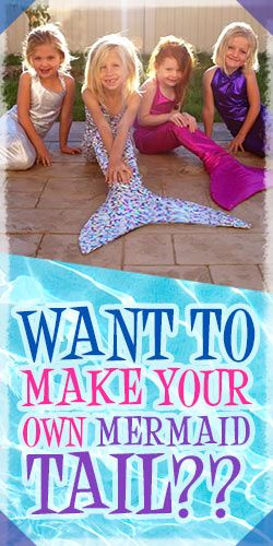 Want To Make Your Own Mermaid Tail??