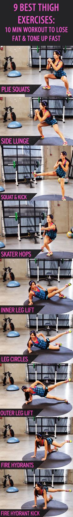 Looking to strengthen and sculpt your legs with these great workouts!