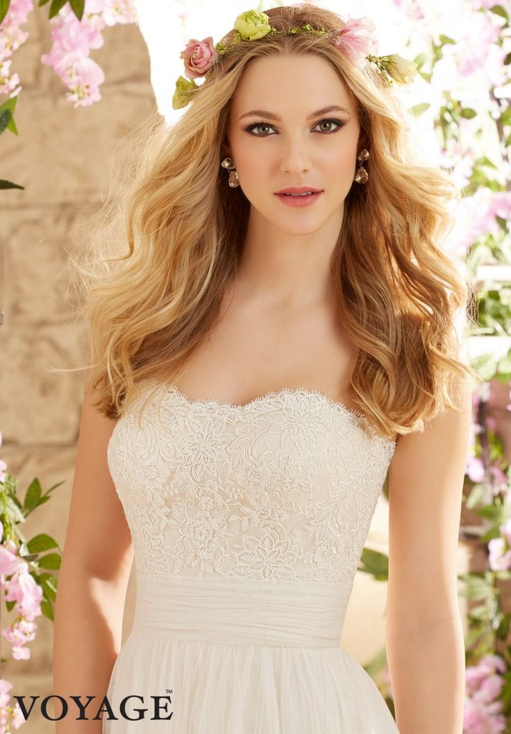 Wedding Dress Alencon Lace On Voyage2
