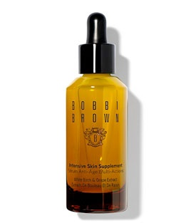Bobbi Brown Instensive Skin supplement: An advanced, multi-benefit serum that improves skins appearance as it helps prevent the visible signs of aging. #BobbiBrown