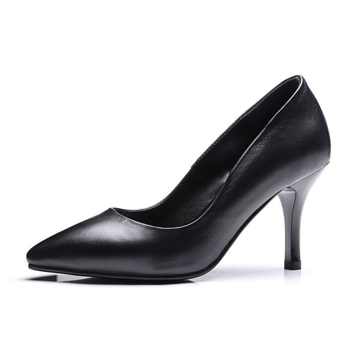 >> Click to Buy << Womens black stiletto high heels classics pointed toe, three type high ladies professional dress shoes  party simple pumps 999-1 #Affiliate