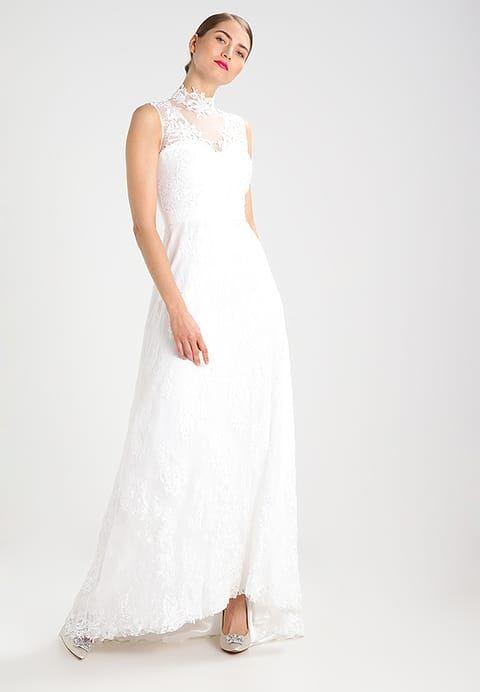 Brautkleid, Hochzeitskleid, Spitze, hochgeschlossen
