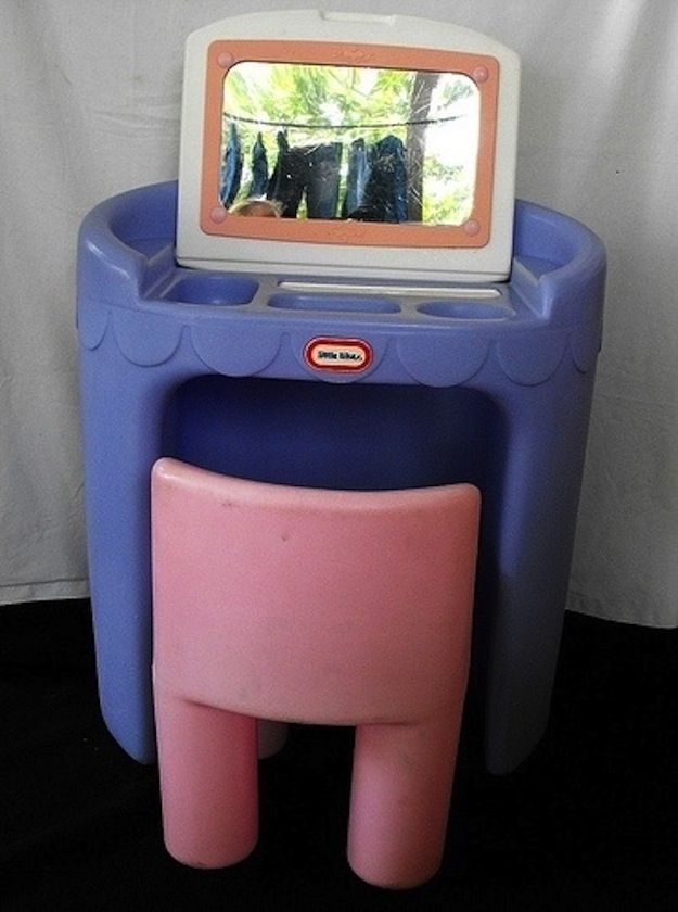 Little Tikes Plastic Vanity | 55 Toys And Games That Will Make '90s Girls Super Nostalgic