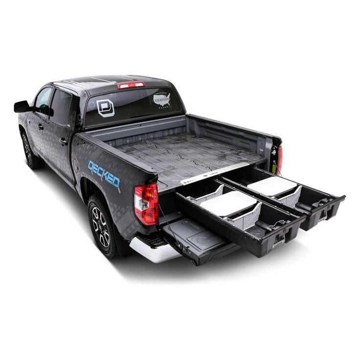Image may not reflect your exact vehicle!DECKED® - Truck Bed Storage System