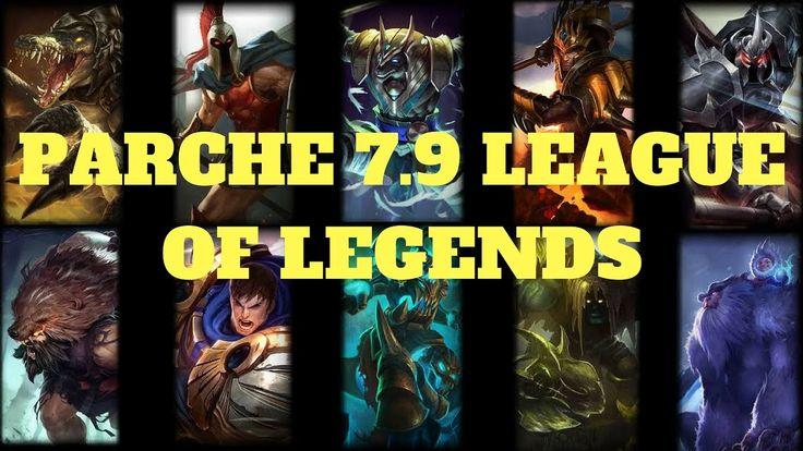 heraldo rework objetos parche 7.9 lol league of legends actualizacion tankes