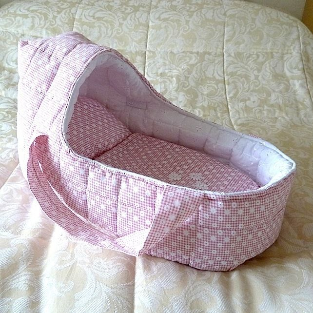 Large Doll's Carrycot fits dolls up to 18 inches £20.00