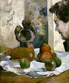 "Paul Gauguin ""Nature morte au profil de Laval"""