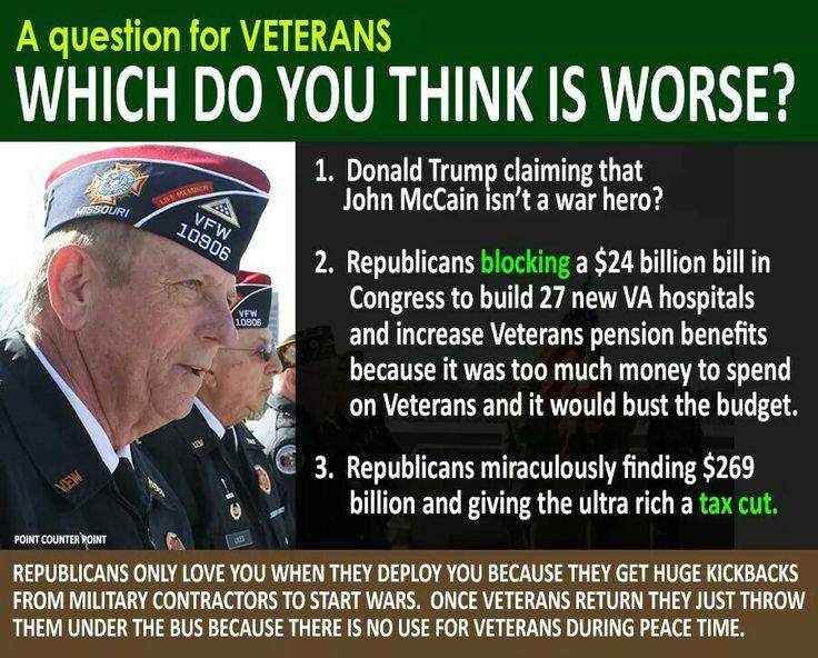238 best veterans images on Pinterest | Politics, Political views ...