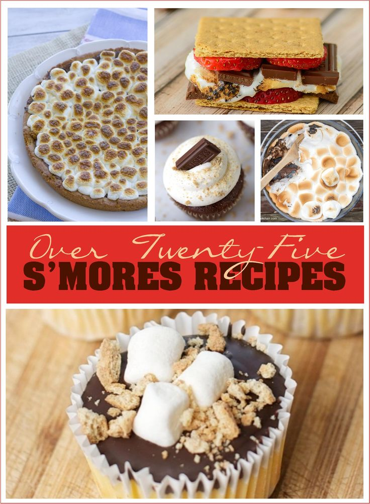 Happy National S'mores Day! I've rounded up 25+ of the best S'mores recipes to  help you celebrate, including my S'mores Snack Mix. Which recipe will you try first?