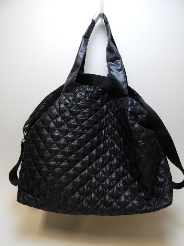 55932be2baf Steve Madden Black Quilted Weekender Bag NWT | GOODWILL HUNTING ...