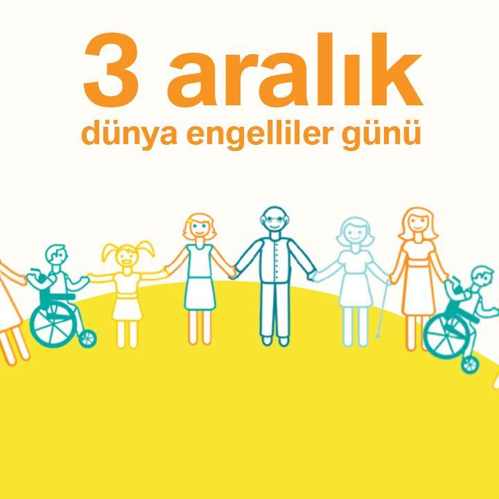 """Bugün Dünya Engelliler Farkındalık Günü...   Engelli insanlara saygı, insanlığa saygıdır.  Otomol ailesi olarak """"Engel Tanımayan""""ların yanında olmaktan gurur duyuyoruz!  #otomol #EngelTanımayanlar"""