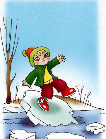 chôdza po ľadových kryhách