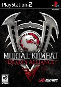 PLAYSTATION 2 ~  Mortal Kombat: Deadly Alliance  ~ PS2 GAME, FREE SHIPPING $11.99