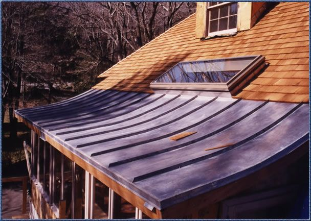 Lead Coated Copper Roof Copper Roofing Copper Roof
