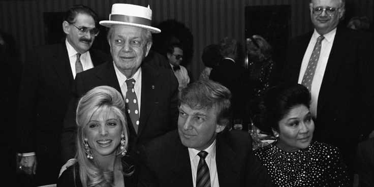 The Trumps: America's Most Riveting Real-Life Soap Opera ||  Marla Maples, Joey Adams, Donald Trump and Imelda Marcos.