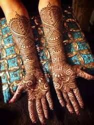 Image result for bridal mehndi designs with stones