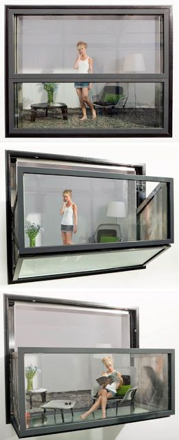 Bloomframe® is an innovative window that morphs magically into a balcony at the…