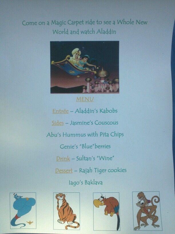 Disney Dinner Nights - Aladdin