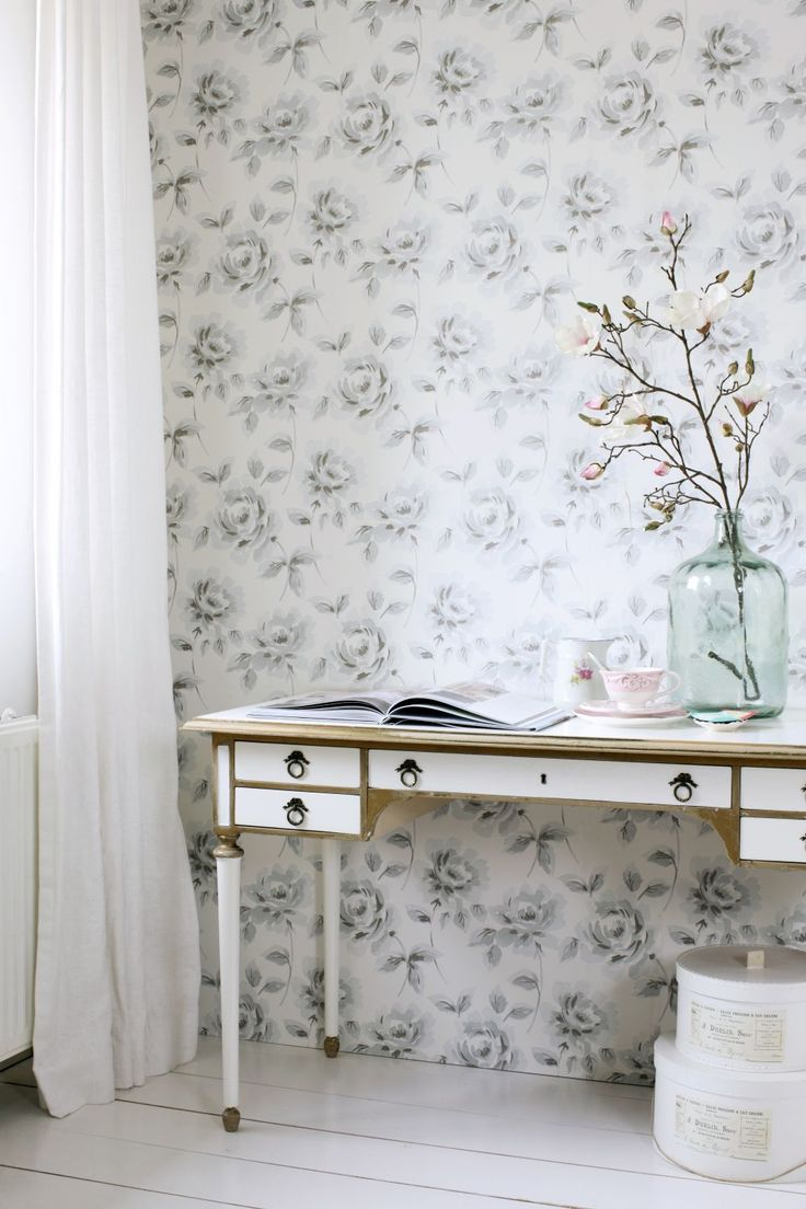 1000 images about trends shabby chic on pinterest for Wallpaper esta home