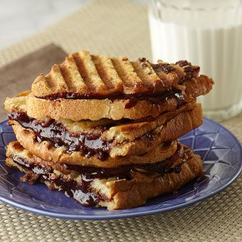 Peanut Butter and Chocolate Jam Panini: Recipe, Peanut Butter