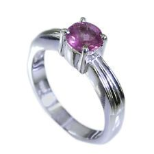 Tourmaline Silver Ring L-1in taking Multi jewellery AU KMOQ