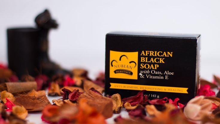 African Black Soap Nubian Heritage