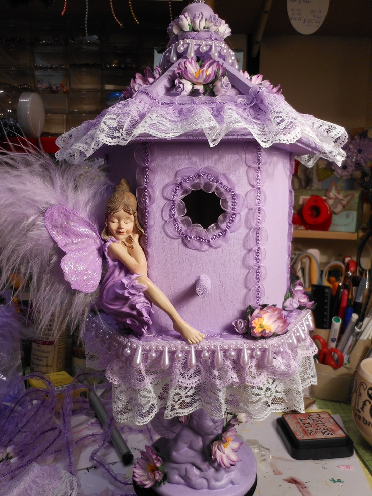 Sleeping Fairy Bird House