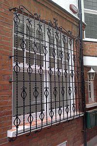 1000 Ideas About Window Bars On Pinterest Security Door