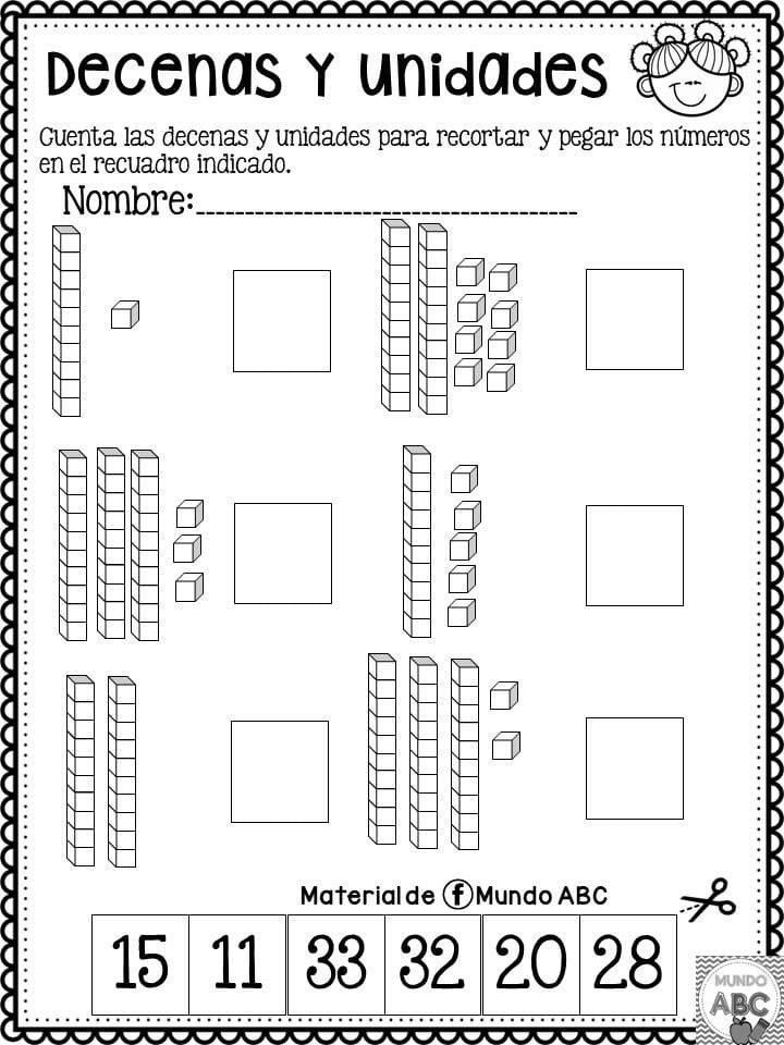 Pin By Cristel Martinez On Favoritos 1st Grade Math Worksheets 2nd Grade Math Worksheets Place Value Worksheets
