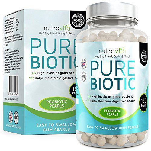 Probiotiques Flore Intestinale par Nutravita | 50 Milliards de Cellules Bactériennes Souches Viables au Quotidien | Des Bactéries Utiles et…