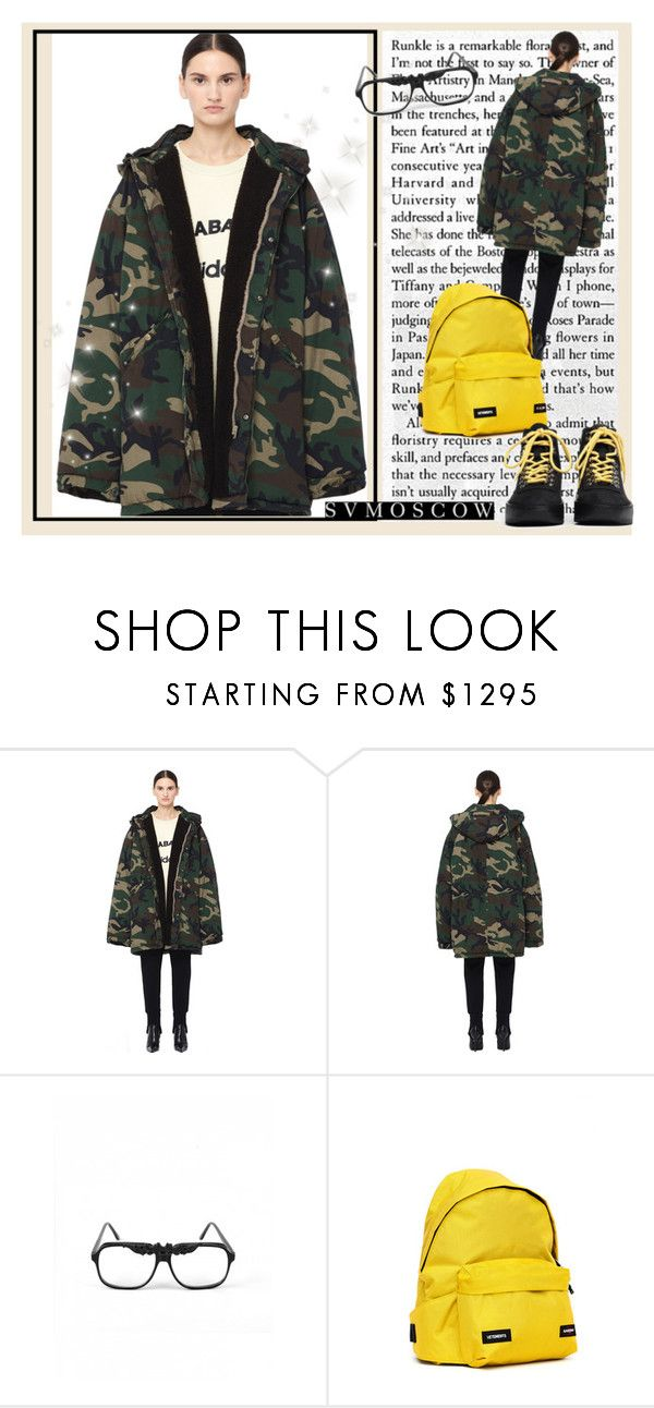 """""""SVMOSCOW"""" by sabine-rose ❤ liked on Polyvore featuring Yeezy by Kanye West, Eastpak and Fear of God"""