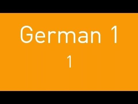 """Hello and welcome to German 1. This video will give you an introduction to the German personal pronouns and the present tense of the verb """"sein"""". We hope you..."""