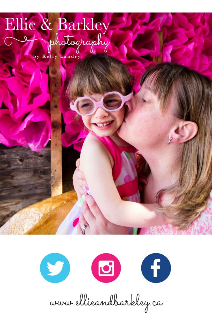 What an adorable mother and daughter! Taken at the Prairie Gardens & Adventure Farm