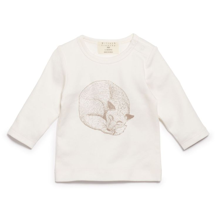 Little foxy peacefully sleeping on our long sleeve top. Made from 100% cotton   #wilsonandfrenchy #babystyle #newborn #babyprep #baby #fashion #unisex #babylove  #perfectbabies  #unisexbabyclothes  #newmum #babygift #babyshower #australiandesign #shopbaby #mumsunite #babylove #magicofchildhood #little