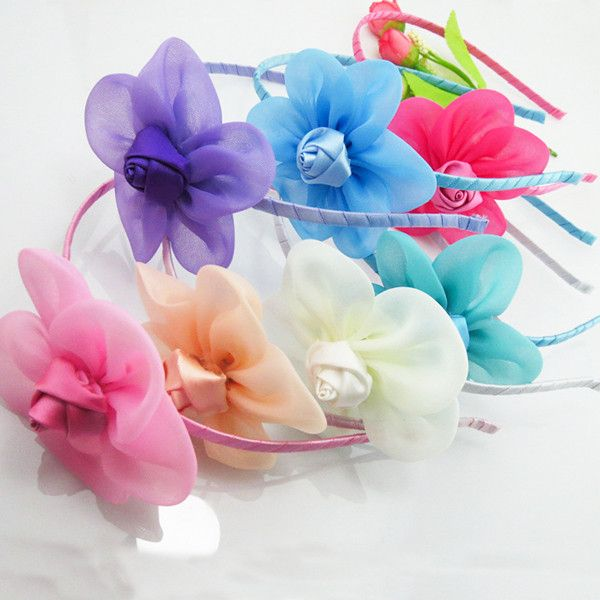Boutique Flower Hairbands