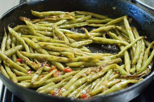 Fresh green beans by the Pioneer Woman. These were awesome, very different than the usual!