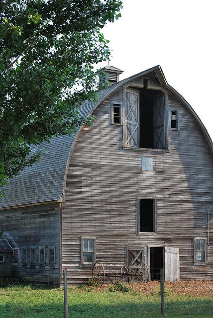 gorgeous old weathered barn