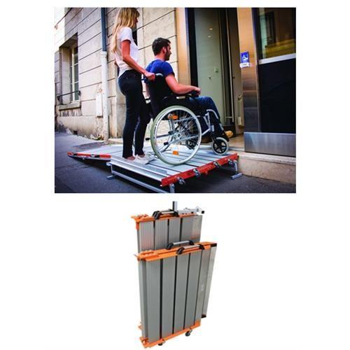 Portable Wheelchair Platform
