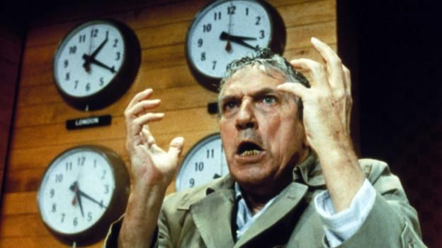 Forty years ago this month Network was released to widespread acclaim. But its shocking satire turned out to be eerily prescient, writes Nicholas Barber.