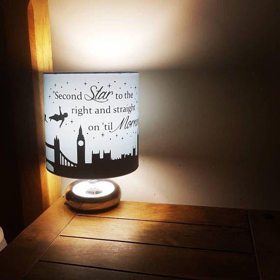 Peter pan bedside/reading lamp includes Peter Wendy John