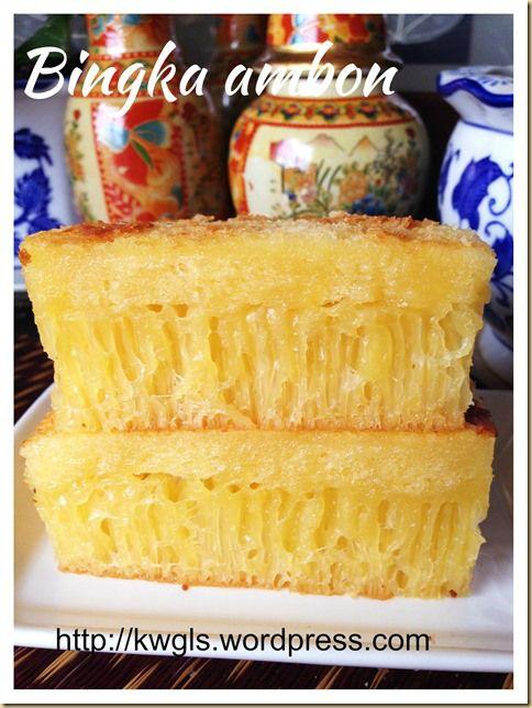 It Is Still Not Perfect Yet - Indonesian Honey Comb Cake–Bika Ambon or Bingka Ambon #guaishushu #kenneth_goh #bika_ambon #Bingka_ambon #Indonesian_honeycomb_cake