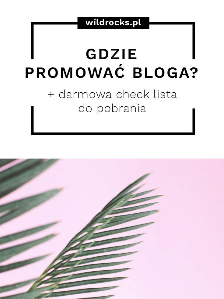 Zastanawiasz się gdzie promować bloga w Internecie? Możliwości jest naprawdę dużo, a o wielu z nich nie mamy nawet pojęcia - dlatego myślę, że ten artykuł może Ci się przydać.  Dodatkowo możesz tez pobrać darmową check listę promocji postów - tak aby nie pogubić się w gąszczu możliwości  . . . promowania postów w internecie.  #blog #blogowanie #blogosfera #promocjabloga #marketing