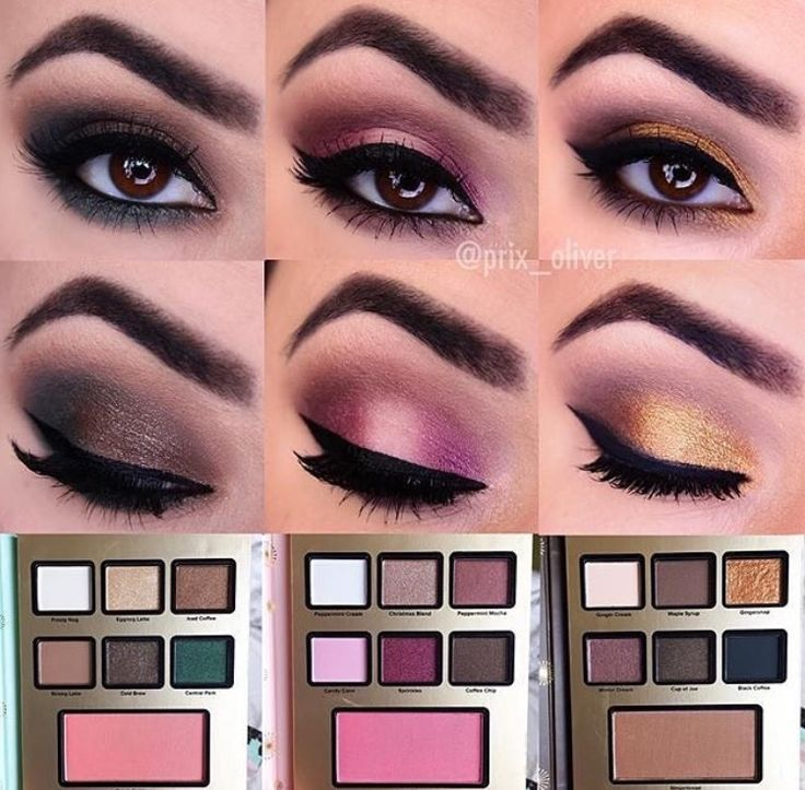 makeup using the grande hotel caf from the 2016 too faced holiday collection - Purple Hotel 2016