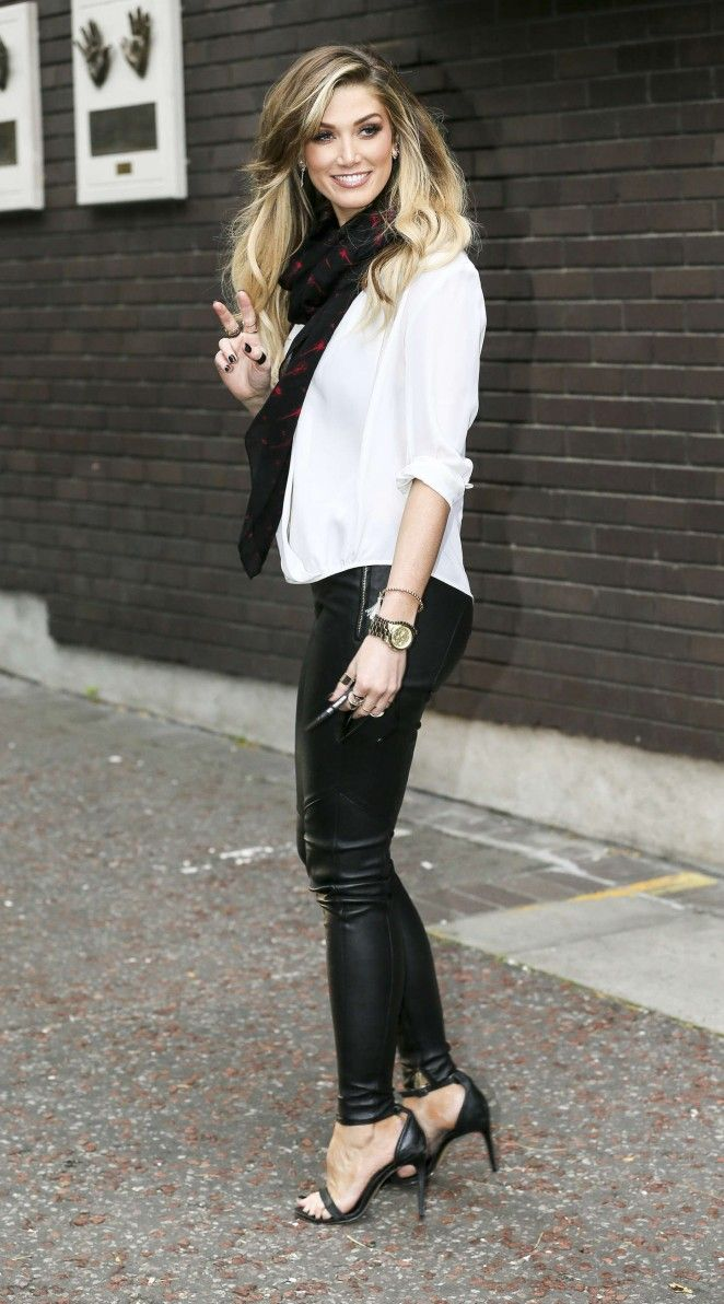 Gymnastics and More!: Delta Goodrem at ITV Studios in London