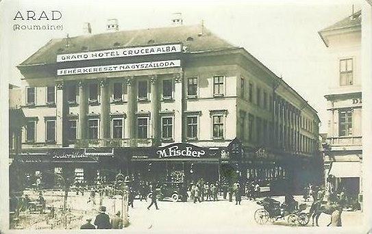 Arad - Fostul Hotel Crucea Albă