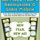 Those first few days back from winter break can be difficult, but with the great interactive FREEBIE in your corner, you are sure to have them focused and ready to learn in no time.  The fun and simple mobile kit provides your students with an opportunity to reflect on the past year and a chance to set goals for the coming year. Not only will you students students enjoy making this mobile kit, but you will end up with an amazing display to decorate your hallway or classroom ceiling!