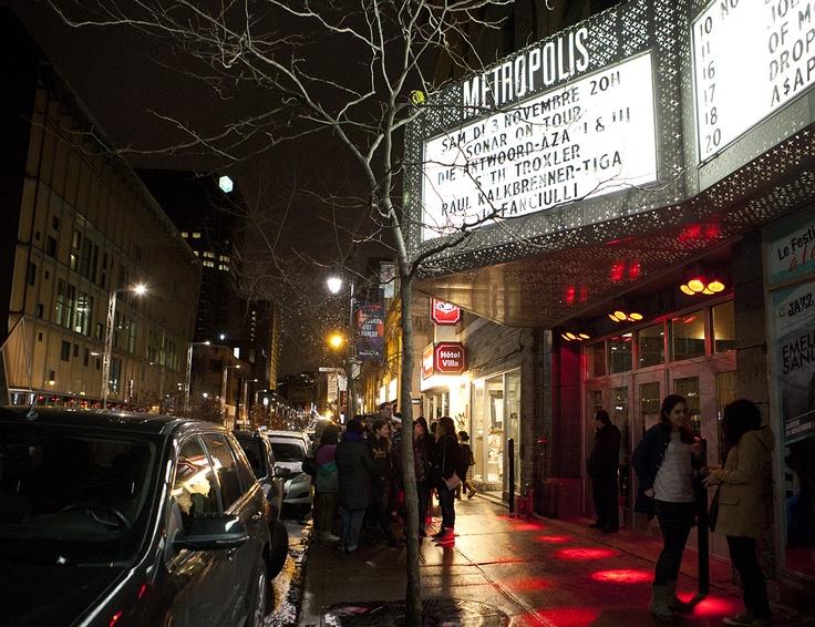 Sonar On Tour Montreal - Metropolis #sonarontour