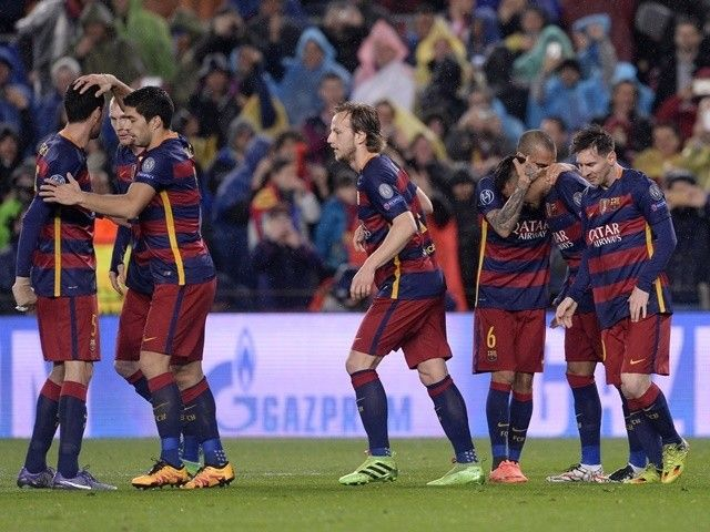 Result: Barcelona through to Champions League last eight