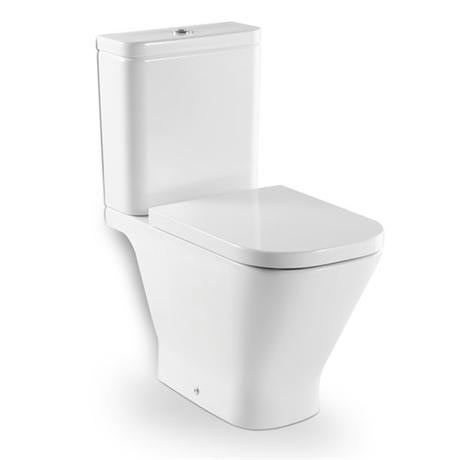 Roca - The Gap Close Coupled Toilet with Soft-Close Seat